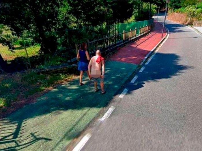 Viral, Pria Ini Tertangkap Kamera Google Maps saat Melepaskan Celananya