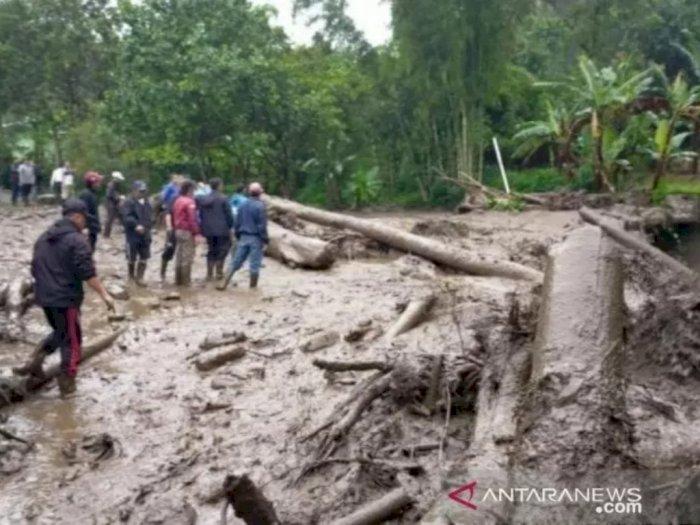 BMKG Sebut Curah Hujan Ekstrem Sebabkan Banjir Bandang di Cisarua Bogor