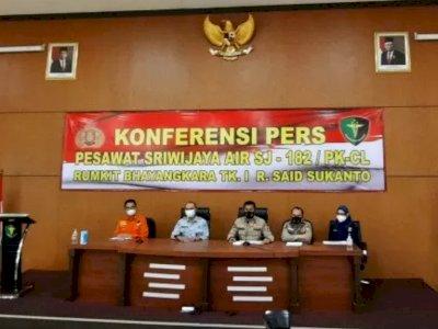 Tambah 6 Lagi Hari Ini, Total 40 Korban Sriwijaya Air SJ-182 Sudah Teridentifikasi
