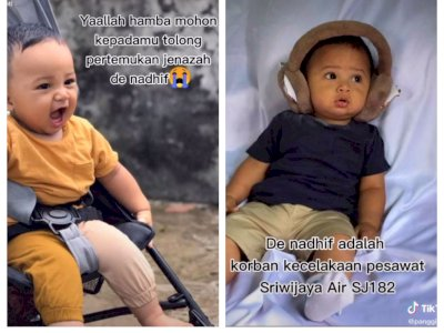 Bayi Nadhif, Korban Sriwijaya Air SJ-182 Hingga Kini Belum Ditemukan
