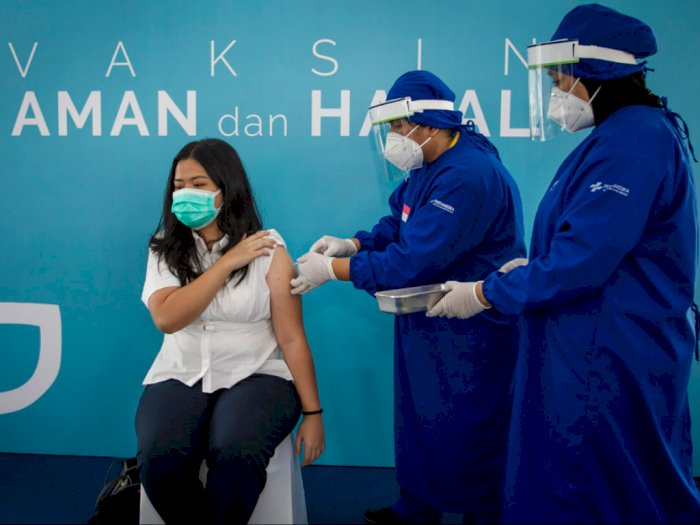 Wakil Gubernur DKI Sebut Tak Ada Efek Samping dari Vaksinasi di Jakarta