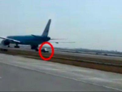 Karena Mabuk, Pengendara Mobil Ini Terobos Bandara, Ditangkap Kepolisian Setempat