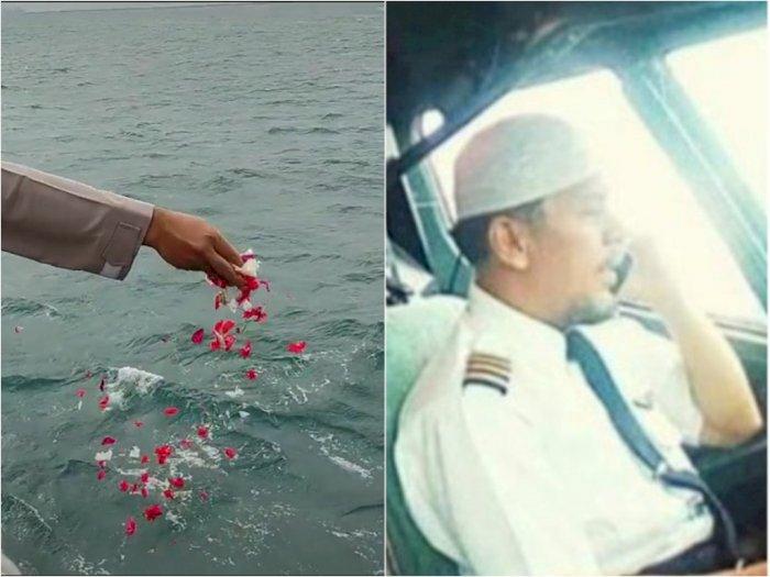 Viral Video Tabur Bunga untuk Korban Pesawat Sriwijaya Air, Netizen Tanyakan Kapten Afwan