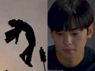 Adegan Kecelakaan Suho di Episode 10 Drama True Beauty, Netizen Sebut Mirip Iklan Kasur