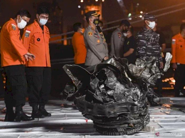 KNKT Temukan Petunjuk Penyebab Jatuhnya Sriwijaya Air SJ-182 di Kepulauan Seribu