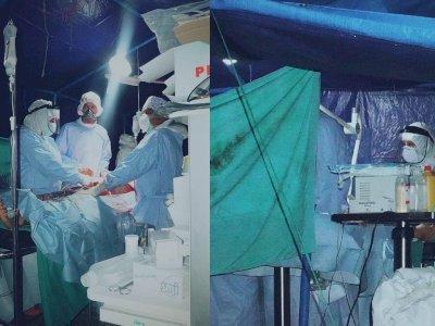 Pasien COVID-19 Jadi Korban Gempa di Sulbar, Dokter Lakukan Operasi Darurat di Tenda