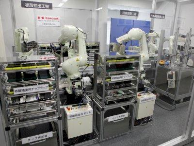 Jepang Gunakan Teknologi Robot Untuk Tingkatkan Uji COVID-19