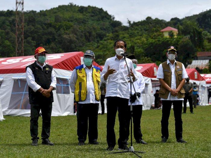 Jokowi Pastikan Rumah Rusak Akibat Gempa di Sulbar Dapat Bantuan Hingga Rp50 Juta