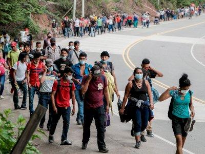 Ribuan Imigran Honduras Berdatangan ke AS, Ingin Hidup di Bawah Kepemimpinan Joe Biden