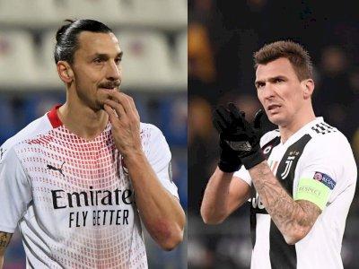 Tak Sabar Duet dengan Mandzukic di Milan, Ibrahimovic: Kami akan Takuti Lawan