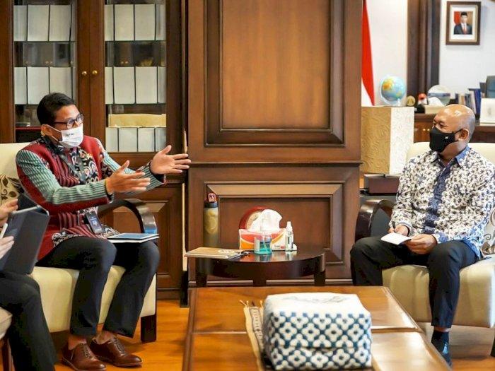 Sandiaga Uno Bersama Menteri Koperasi & UKM Sepakat Bangkitkan UMKM Parekraf
