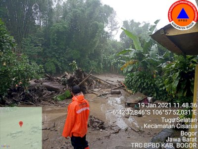 Astaga! Bogor Diterjang Banjir Bandang, 900 Jiwa Terdampak, BNPB: Kondisi Belum Kondusif