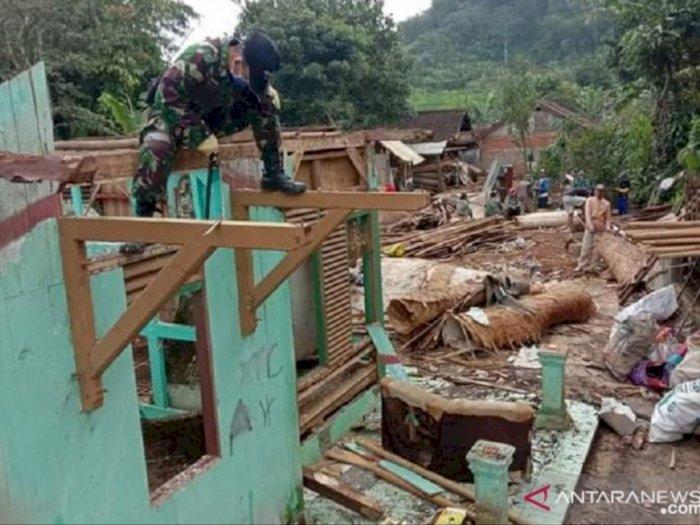 Bencana Pergerakan Tanah di Sukabumi Meluas Usai Ditemukan Retakan-retakan Baru