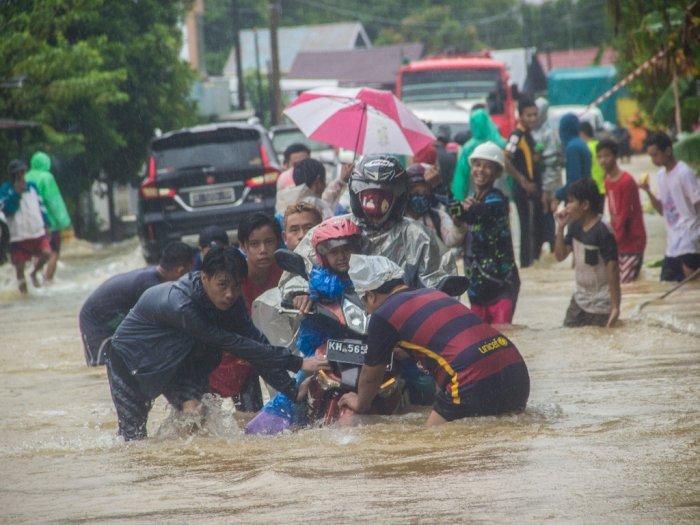 Mengejutkan! KLHK Sebut Banjir di Kalimantan Selatan Bukan Karena Penebangan Hutan