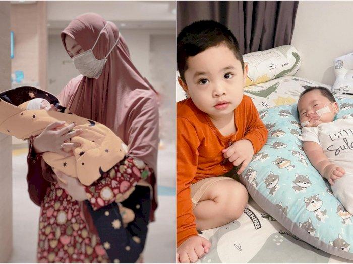 Oki Setiana Dewi Unggah Foto Anak Pakai Selang di Wajah, Banjir Doa dari Netizen