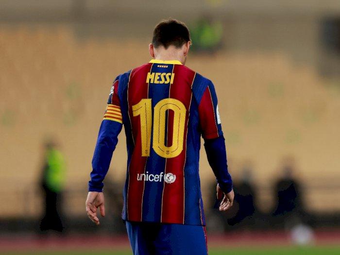Fix! Hukuman Kartu Merah Messi Cuma Dilarang Main 2 Pertandingan