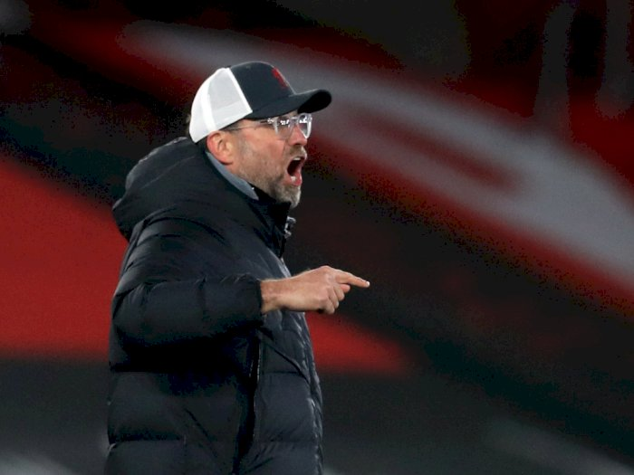 Klopp Bersikeras Performa Liverpool Tak 'Loyo' Walau Cetak Gol Sedikit