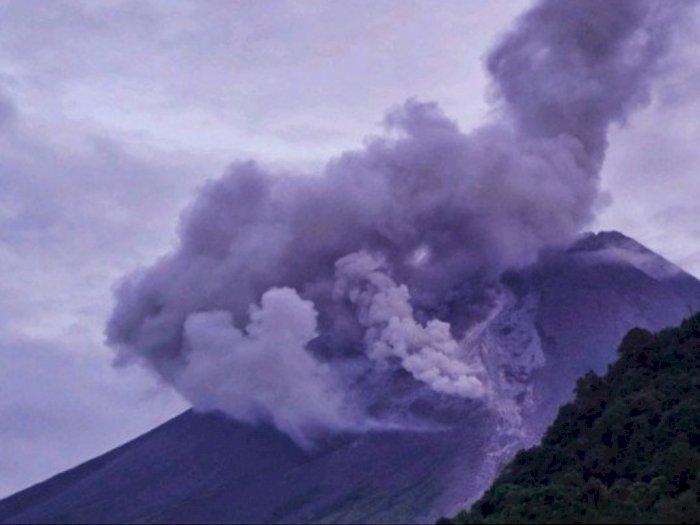 Tiga Kali Gunung Merapi Letuskan Guguran Awan Panas, Luncuran Capai 1200 Meter