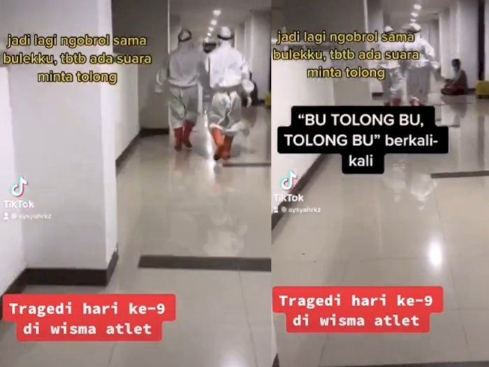 Viral Pasien COVID-19 di Wisma Atlet Teriak Minta Tolong Bikin Heboh Satu Lantai, Ada Apa?