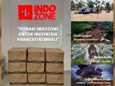 Donasi 22.500 Masker dari INDOZONE Untuk INDONESIA #BANGKITKEMBALI