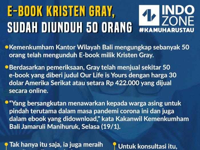 E-Book Kristen Gray,  Sudah Diunduh 50 Orang