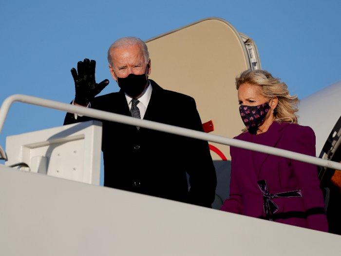 Trump Tak Izinkan Pesawat Kepresidenan Jemput Biden ke Pelantikannya di Washington D.C.