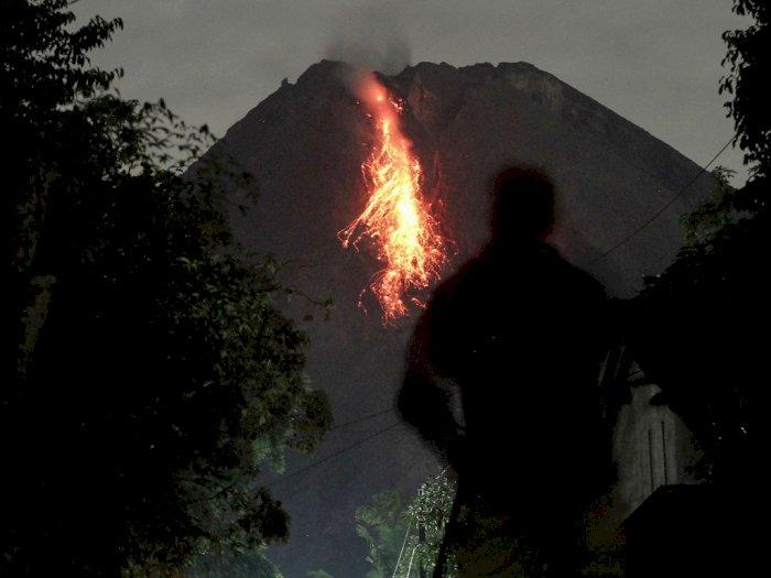FOTO: Aktivitas Gunung Merapi