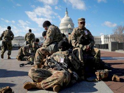 Disebut Mencurigakan, 12 Anggota Garda Nasional Dibebastugaskan Jaga Pelantikan Biden