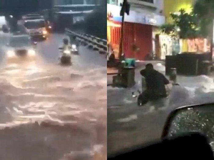 Ratusan Rumah Terendam dan Satu Orang Hilang Terbawa Arus Banjir di Malang
