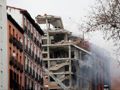 Terjadi Ledakan Besar di Gereja Katolik Madrid, Dua Orang Tewas Salah Satunya Pastor