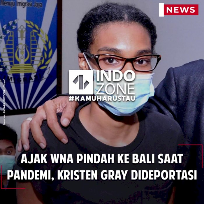 Ajak WNA Pindah ke Bali saat Pandemi, Kristen Gray Dideportasi