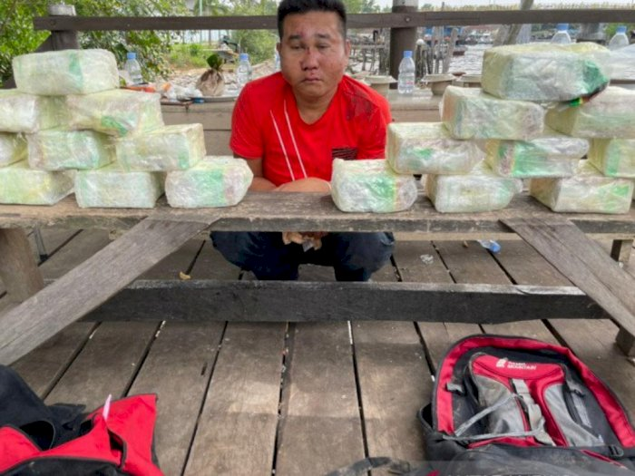 20 Kilogram Sabu asal Malaysia Gagal Tiba di Dumai, Tim Harimau Tangkap Kurir di Bengkalis
