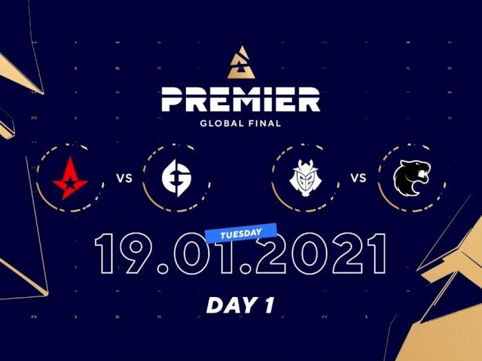 Hari ke-1 BLAST Premier Global Final, G2 Esports dan Astralis Bertahan di Upper Bracket