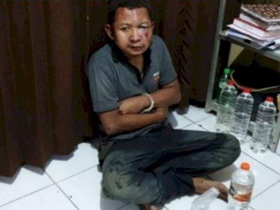 Nekat Mencuri di Rumah DInas TNI AL, Sopir Mobil Box Bonyok Dihajar Ramai-ramai
