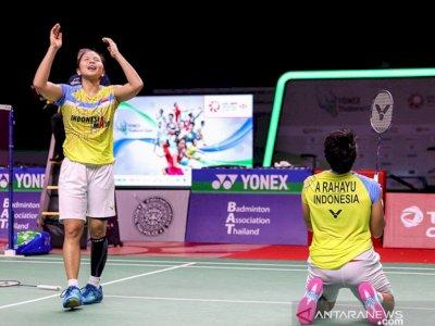 Ganda Putri Greysia/Apriyani Menangi Laga Pertama Thailand Open II