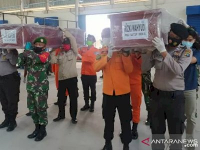 Hari Ini, 5 Jenazah Korban Sriwijaya Air SJ-182 Diserahkan ke Keluarga