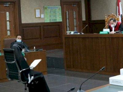 Jaksa Pinangki Bacakan Pledoi Sambil Terisak Tangis, Berharap Bisa Membalik Waktu