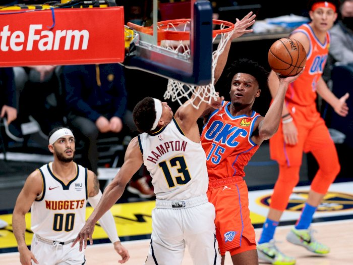 FOTO: Jokic Bawa Denver Nuggets Kalahkan Thunder 119-101