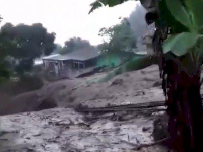 Mengerikan, Detik-detik Banjir Bandang Menerjang Kawasan Gunung Mas Bogor