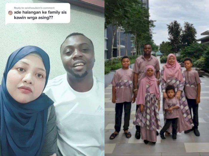 Ditanya Hambatan Menikah dengan Pria Nigeria, Wanita Ini Bagikan Kisah Indah Keluarganya