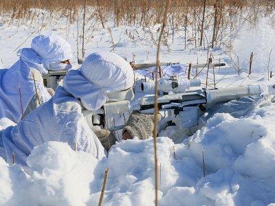 Latihan Ekstrem Sniper Rusia di Suhu -35 Derajat Celcius, Tembak Target  Tanpa Mengigigil