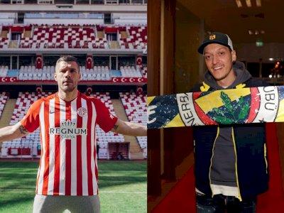 Podolski Senang Sambut Ozil di Liga Turki: Akhirnya Dia Bisa Main Bola Lagi