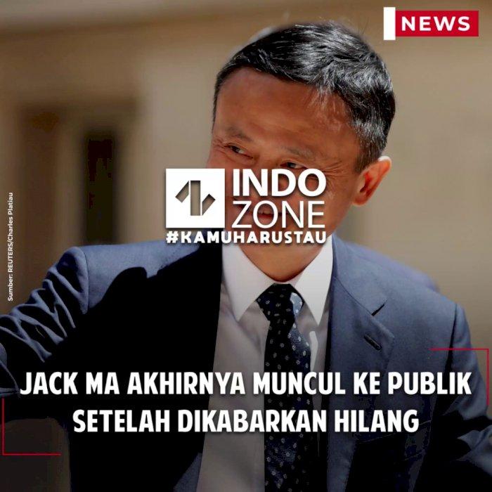Jack Ma Akhirnya Muncul ke Publik Setelah Dikabarkan Hilang