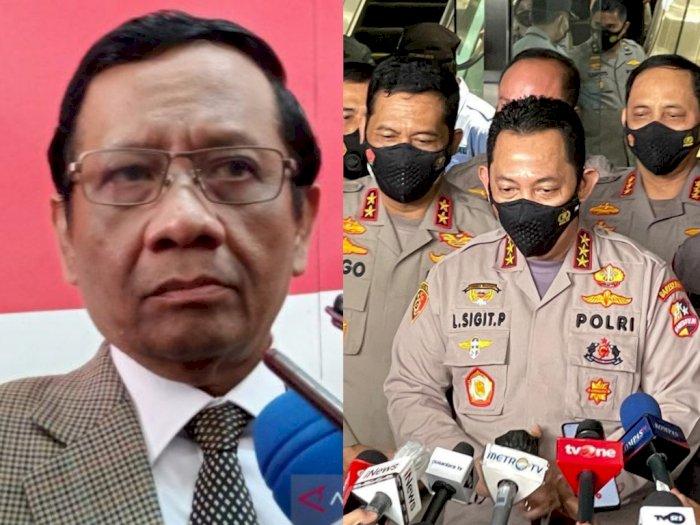 Mahfud MD Puji Janji Listyo Tindak Polisi Terlibat Narkoba, Netizen: Loh, Sebelumnya?