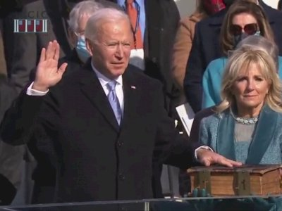 Joe Biden Resmi Jadi Presiden Amerika Serikat