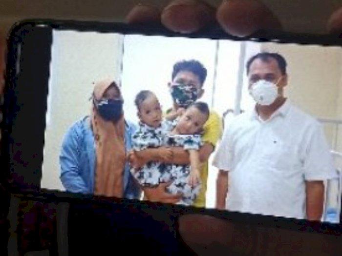 Alhamdulillah, Bayi Kembar Siam Adam dan Aris Berhasil Dipisahkan di RS Adam Malik Medan