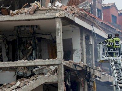 4 Orang Tewas atas Insiden Ledakan Gas di Madrid