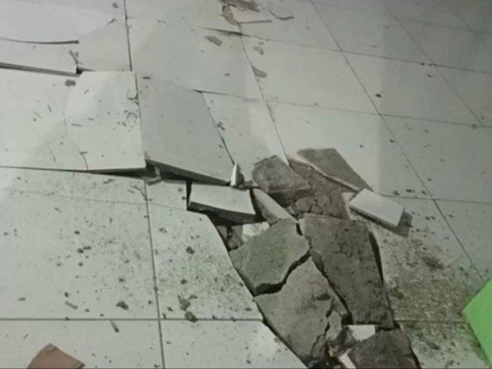 Akibat Gempa Magnitudo 7,1 di Sulut, Lantai RSUD Mala Rusak, 'Sempat Terjadi Kepanikan'