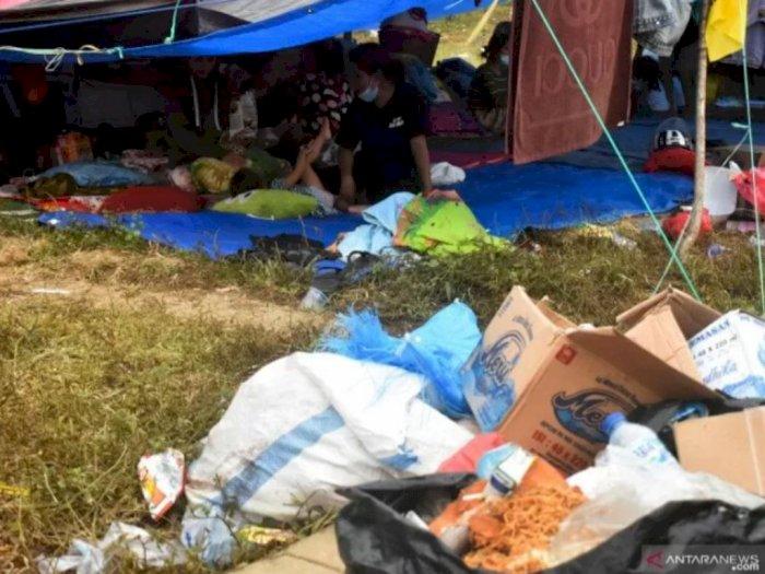 Kasihan! Puluhan Balita Pengungsi Gempa Mamuju Diserang Penyakit, 'Makan Sembarangan'
