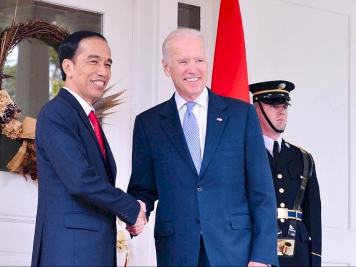 Presiden Joko Widodo Ucapkan Selamat Atas Pelantikan Joe Biden dan Kamala Haris